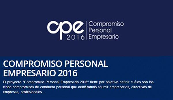 COMPROMISO PERSONAL EMPRESARIO 2016