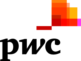 Logo PwC Color fondo blanco