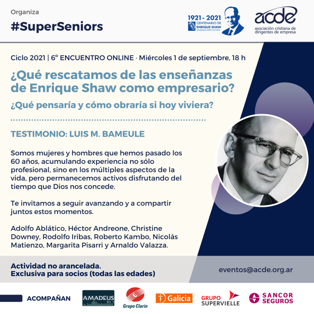 Super Seniors 6to encuentro 2021